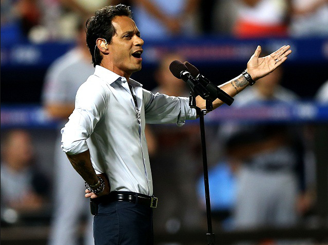 Marc Anthony God Bless Baseball
